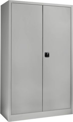 SSI Schäfer Aktenschrank MSI 2412, Stahl, 1200 x 400 x 1935 mm, alusilber