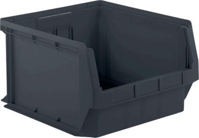 SSI Schäfer magazijnbak met zichtopening LF 543, gerecycleerd kunststof, L 500 x B 470 x H 300 mm, 57 l, 10 stuks