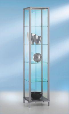 Sta-vitrine, B 400 x D 400 x H 1860 mm