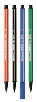 STABILO® Fasermaler Pen 68, sortiert, 10 Stück