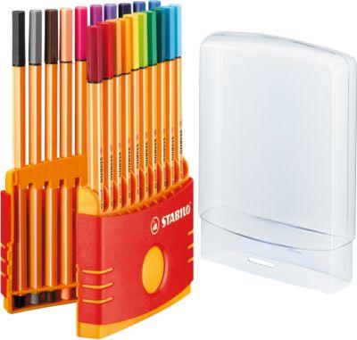STABILO® Fineliner Point 88 in klapbox, 20 stuks