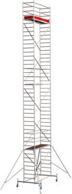 STABILO Professional Fahrgerüst, Serie 10, 12,40 m Arbeitshöhe