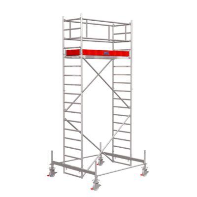 STABILO rolsteiger serie 100, 2 m traveelengte, 5,40 m werkhoogte, STABILO rolsteiger serie 100, 2 m traveelengte, 5,40 m werkhoogte.