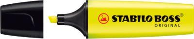 STABILO® Textmarker BOSS Original, gelb, 10 Stück