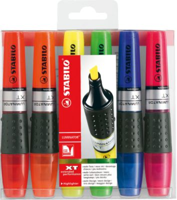 STABILO® Textmarker Luminator, 6er-Set