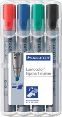 Staedtler Flipchart marker 356, 4perset