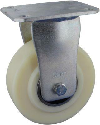 Stahlgeschweißte Bockrolle, Rad-ø 100 mm