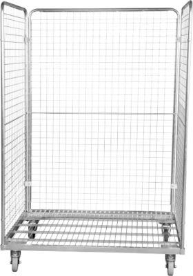 Stahlrollbehälter 800 x 1200 mm, in Europaletten-Abmessung