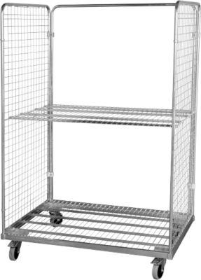 Stahlrollbehälter 800x1200mm, 2-seitig