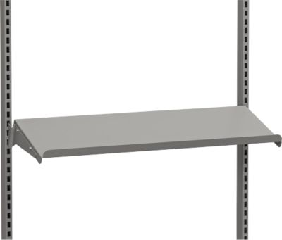 Stalen plank, schuin, 875 x 300 mm