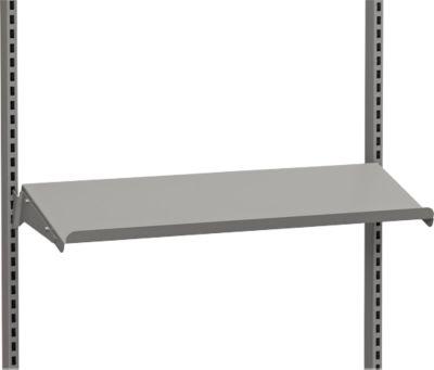 Stalen plank, schuin, 875 x 450 mm