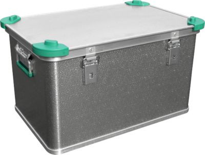 Standard-Box, Leichtmetall, mit Stapelecken, 60 l