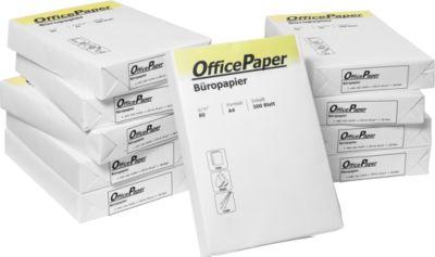 Standard-Kopierpapier, DIN A4, 80 g/m², 10 x 500 Blatt