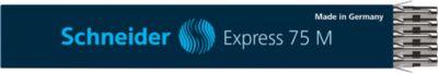 Standardmine SCHNEIDER Express 75, schwarz, 10 Stück