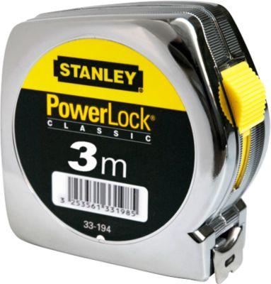 STANLEY Bandmaß PowerLock®, L 3m x B 12,7 mm