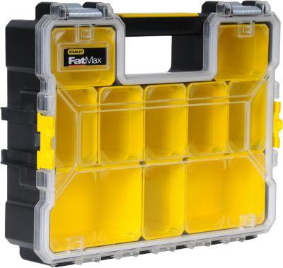 STANLEY professionele organisator FatMax™, platte vakken, 45 x 7 x 36 cm, platte vakken, 45 x 7 x 36 cm.
