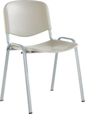 Stapelbare stoel Elyeko l.grs/alukl.