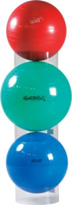 Stapelhulp voor gymnastiekballen, transparant, voor ballen van 55 tot 120 cm, set van 3