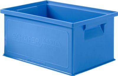 Stapelkasten 14/6-3, Kunststoff, 7 l, blau