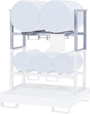 Stapelrahmen, f. Auffangwanne Typ WGB 24, 2x200 l Fässer