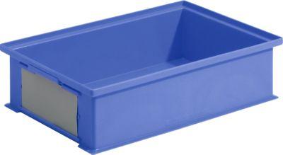 Stapeltransportbakken 14/6-2H, 12 liter, kunststof blauw