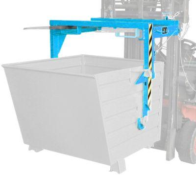 Staplertraverse BST 70, für Stapelkipper BSK, blau