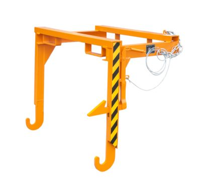 Staplertraverse BST 90, für Stapelkipper BSK, orange