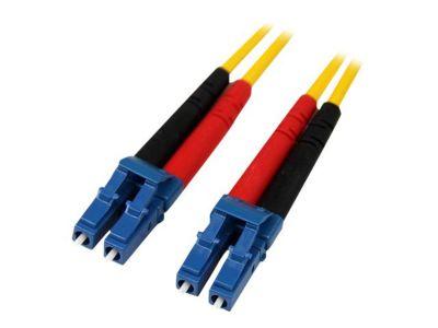 StarTech.com 10m Singlemode 9/125 Duplex LSZH LC auf LC OS1 LWL / Glasfaser-Netzwerkkabel - Gelb - Patch-Kabel - 10 m - Gelb