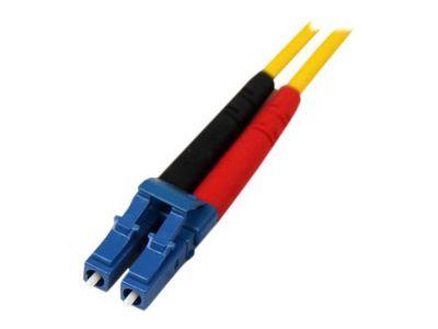 StarTech.com 7m Singlemode 9/125 Duplex LSZH LC auf LC OS1 LWL / Glasfaser-Netzwerkkabel - Gelb - Patch-Kabel - 7 m - Gelb