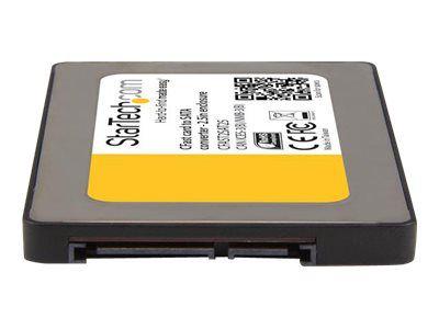 StarTech.com CFast Karte auf 2,5 SATA Kartenleser - CFast Card zu SATA / SSD Adapter / Konverter - Unterstützt Serial ATA III (6 Gbit/s) - Speicher-Controller - CFast Card - SATA 6Gb/s