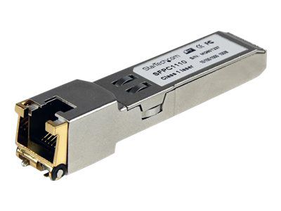 StarTech.com Cisco kompatibles Gigabit RJ45 Kupfer SFP Transceiver Modul - Mini-GBIC - SFP (Mini-GBIC)-Transceiver-Modul - GigE