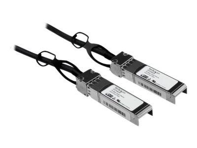 StarTech.com Cisco kompatibles SFP+ Twinax Kabel 2m - 10GBASE-CU SFP+ Direct Attach Kabel - passiv - 10Gigabit Kupfer Netzwerkkabel - Direktanschlusskabel - 2 m
