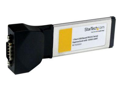 StarTech.com Serielle RS232 / DB9 Laptop ExpressCard Schnittstellenkarte mit 16950 UART - Serieller Adapter