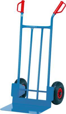 Steekwagen met grote schep, rubber, 17,5 kg