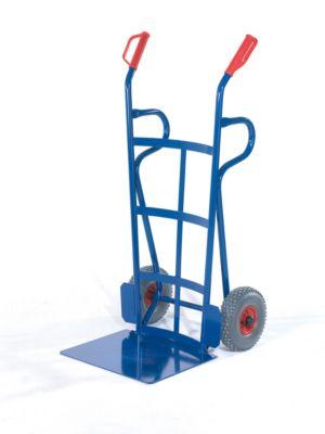 Steekwagen, rubber banden, ø 250 x 60 mm