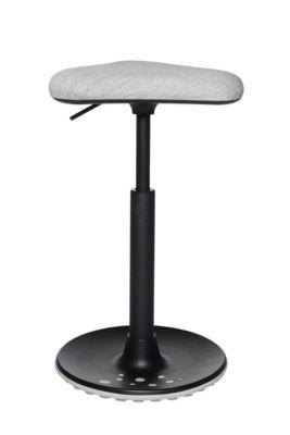 Stehhilfe Topstar Sitness H1, höhenverstellbar, um 360 ° drehbar, dynamisches Sitzen & Stehen, grau/grau