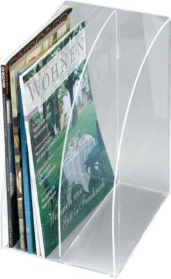 Stehsammler DIN A4, Acryl, extrabreit, glasklar