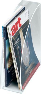 Stehsammler DIN A4, Rückenbreite 95 mm, Acryl, glasklar