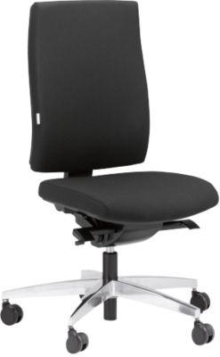 STEIFENSAND CETO CT2450 bureaustoel, zonder armleuningen, zwart