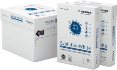Steinbeis gerecycled papier EvolutionWhite, A4, 80 g/m², 100 wit, 2.500 vellen papier