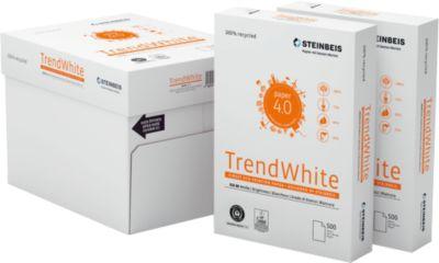 Steinbeis recyclingpapier TrendWhite, A4, 80 g/m², 80 g/m², 80s wit, 2.500 vel
