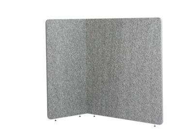 Stellwand Akustik to go 3000 silent.line L-Form, Akustik- & Sichtschutz, B 1600 x H 1500 mm