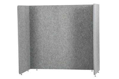 Stellwand Akustik to go 3000 silent.line U-Form, Akustik- & Sichtschutz, B 1600 x H 1500 mm