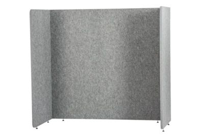 Stellwand Akustik to go 3000 silent.line U-Form, Akustik- & Sichtschutz, B 1800 x H 1500 mm