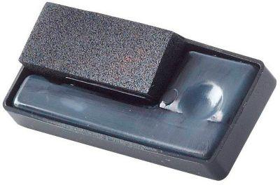 Stempel kussen voor Paginastempel, zwart, 1 pak van 3 kussen
