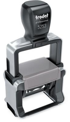 Stempel Trodat Professional 5253 4.0 Typomatic, 6 Zeilen, mit Stempelkissen