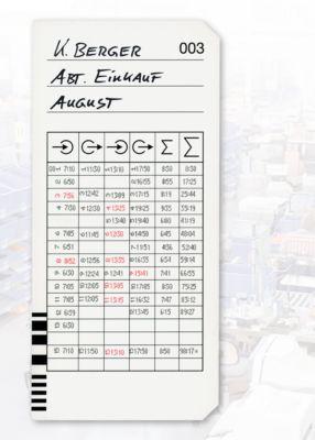 Stempelkaarten v K975, 200 st.