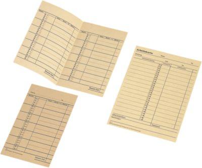 Stempelkaarten, week-loonkaart voor ZS 5000, 500 stuks