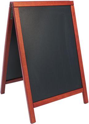 Stoepbord 55x85 cm, mahonie