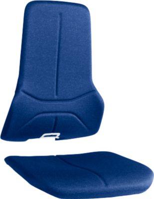 Stoffpolster für Basisstuhl Neon, blau